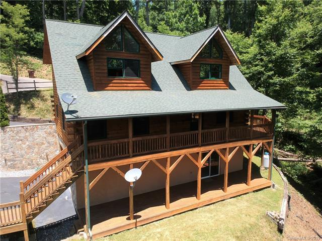 96 Slim Ridge, Maggie Valley, NC 28751 (#3479748) :: Francis Real Estate
