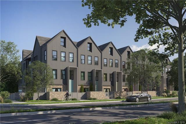 2306 Barry Street Unit #3, Charlotte, NC 28205 (#3483464) :: Cloninger Properties