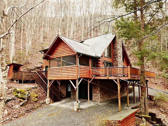 3548 Dicks Creek Road, Whittier, NC 28789 (#3484140) :: Exit Mountain Realty