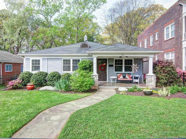 1701 Club Road, Charlotte, NC 28205 (#3488245) :: Exit Mountain Realty