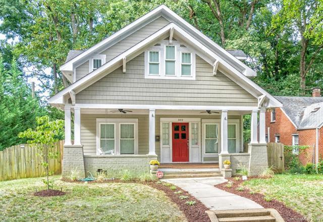 303 Sylvania Avenue, Charlotte, NC 28206 (#3492098) :: Besecker Homes Team