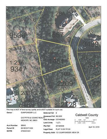 121 Gunpowder View Circle #110, Granite Falls, NC 28630 (MLS #3493449) :: RE/MAX Impact Realty