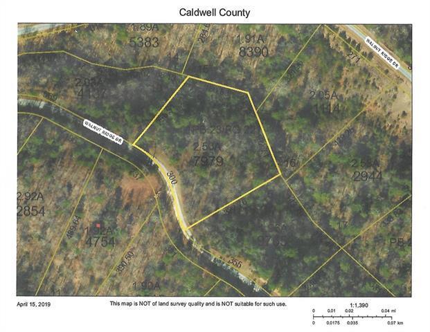 Lot 8 Phase 1 Walnut Ridge Drive #8, Lenoir, NC 28645 (#3496767) :: Rinehart Realty