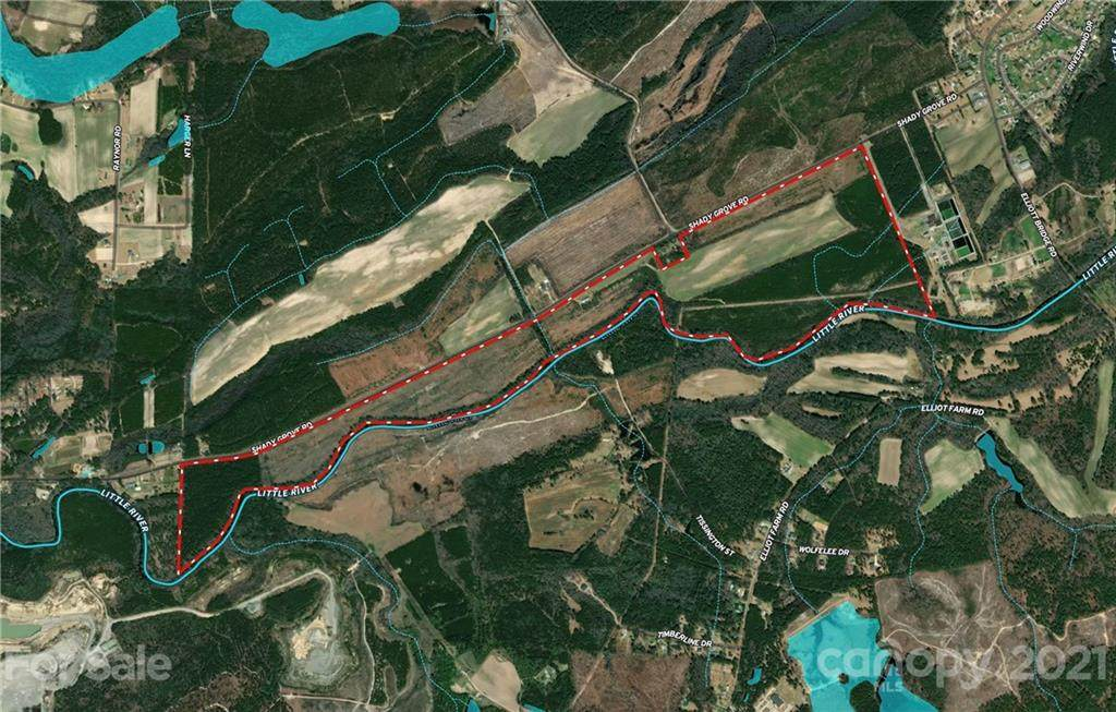 254 Acres Shady Grove Road, Spring Lake, NC 27526 (#3497419) :: Mossy Oak Properties Land and Luxury
