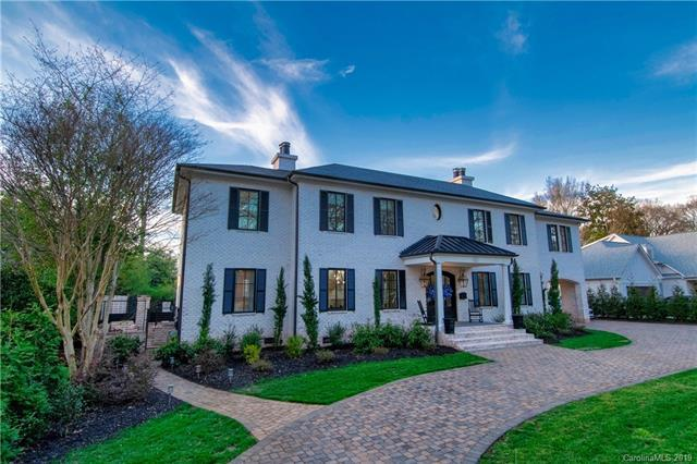 160 Canterbury Road, Charlotte, NC 28211 (#3498532) :: Scarlett Real Estate