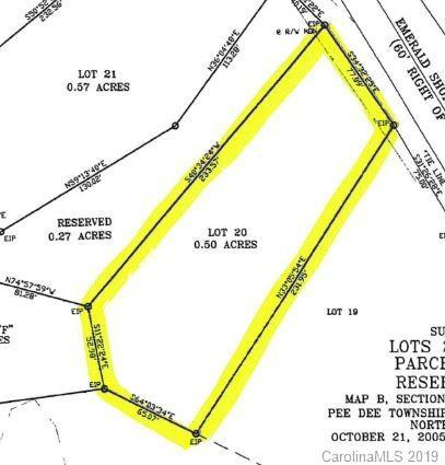 Lot 20 Emerald Shores Road #20, Mount Gilead, NC 27306 (#3502982) :: Carlyle Properties