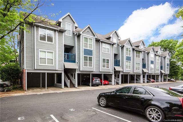 529 N Graham Street 2J, Charlotte, NC 28202 (#3504648) :: Besecker Homes Team