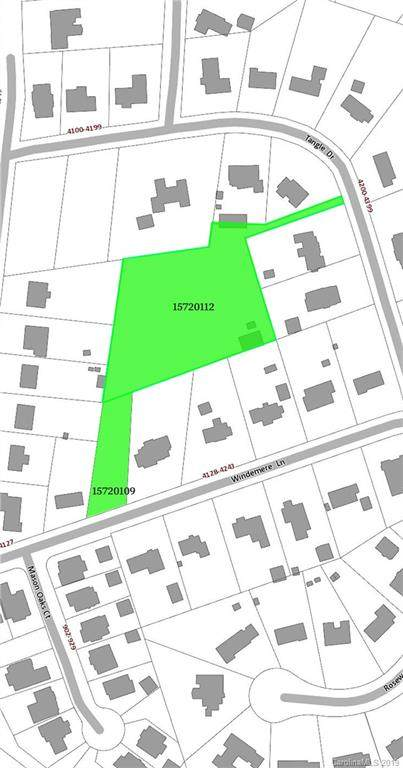 4145 Windemere Lane Lot 9A And Lot , Charlotte, NC 28211 (#3505364) :: High Performance Real Estate Advisors