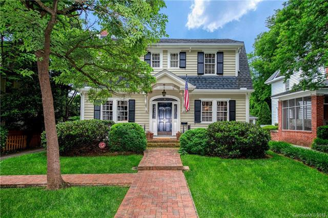 407 Hermitage Court, Charlotte, NC 28207 (#3507698) :: David Hoffman Group