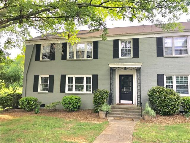 319 Wakefield Drive A, Charlotte, NC 28209 (#3508620) :: Besecker Homes Team