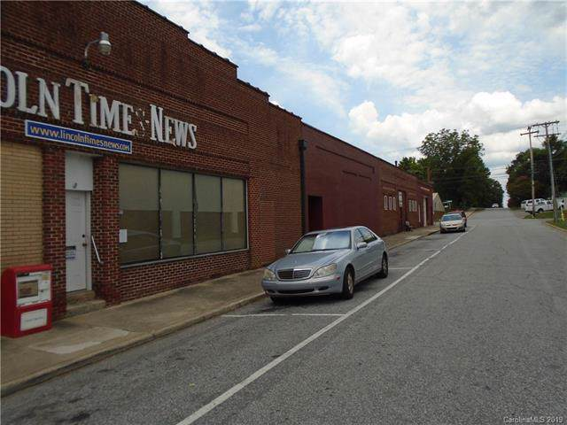 115-125 W Water Street, Lincolnton, NC 28092 (#3513410) :: Miller Realty Group