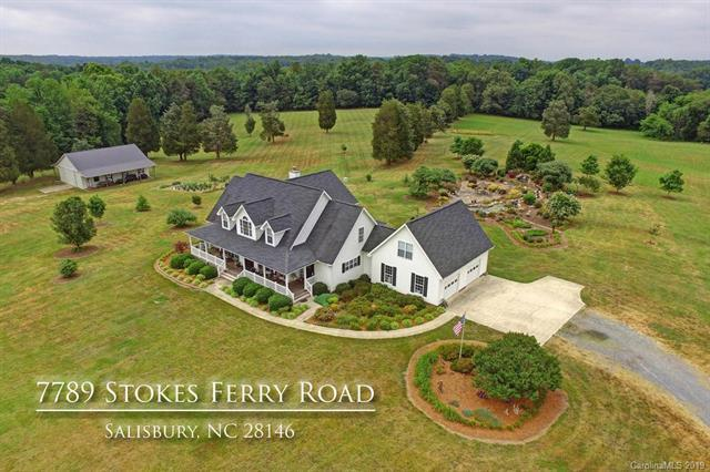 7789 Stokes Ferry Road, Salisbury, NC 28146 (#3516834) :: Caulder Realty and Land Co.