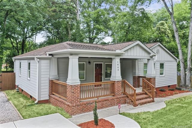 1843 Academy Street, Charlotte, NC 28205 (#3517037) :: LePage Johnson Realty Group, LLC