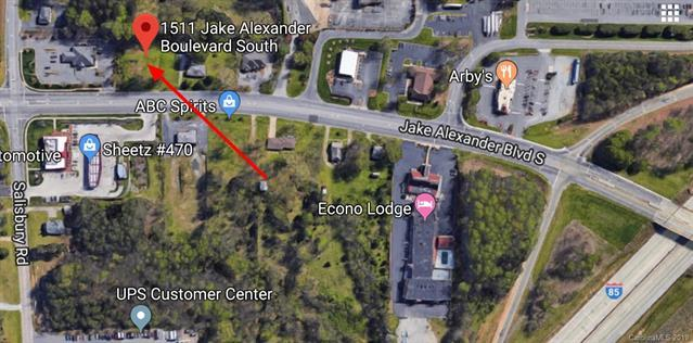 1511 S Jake Alexander Boulevard, Salisbury, NC 28146 (#3517338) :: LePage Johnson Realty Group, LLC