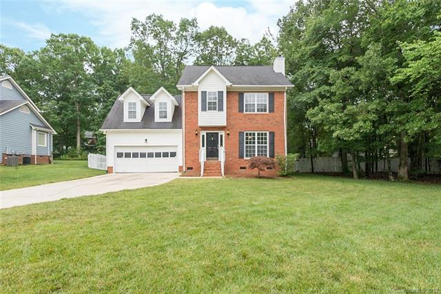 3101 Beech Court, Indian Trail, NC 28079 (#3519390) :: Bluaxis Realty