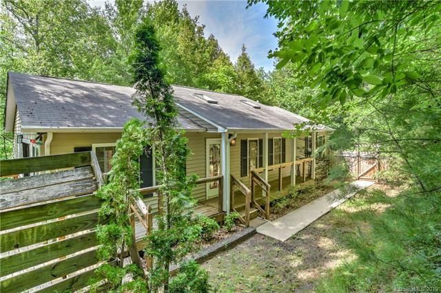 721 Beaverdam Forest Trail, Asheville, NC 28804 (#3520675) :: MartinGroup Properties