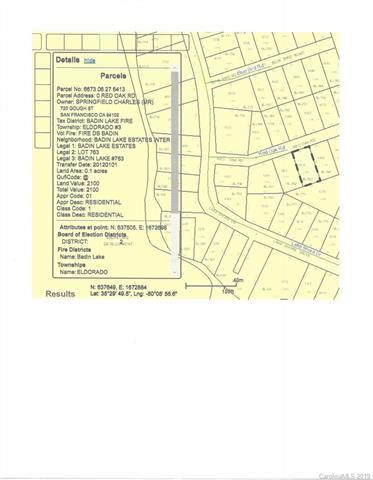 0 Red Oak Road #763, New London, NC 28127 (#3521566) :: LePage Johnson Realty Group, LLC