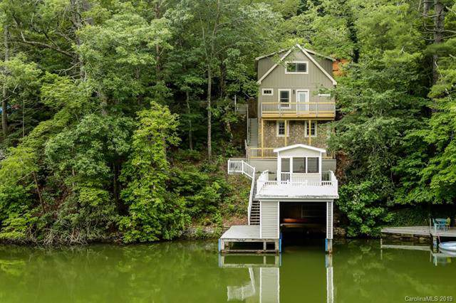 417 Tryon Bay Circle, Lake Lure, NC 28746 (#3528349) :: MartinGroup Properties