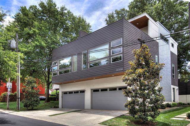 905 Westbrook Drive B, Charlotte, NC 28202 (#3529990) :: The Ramsey Group
