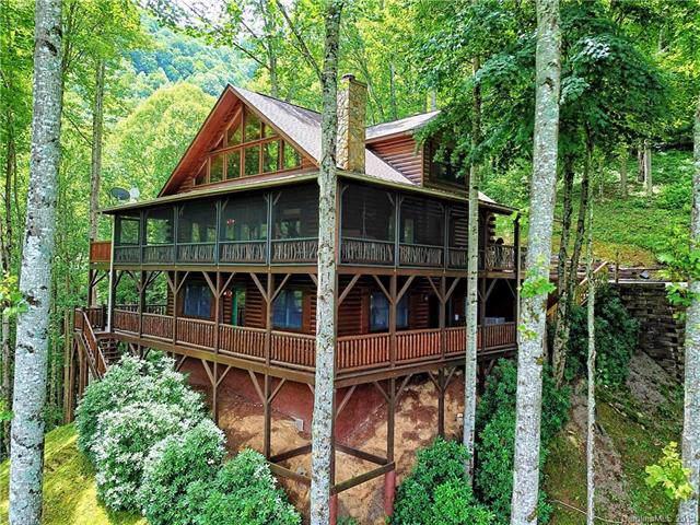 110 Dotsu Trail C-72 & C-70, Maggie Valley, NC 28751 (#3530384) :: Scarlett Real Estate