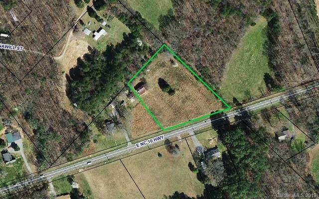 0 Hwy 10 Highway E, Claremont, NC 28610 (#3537717) :: Rinehart Realty