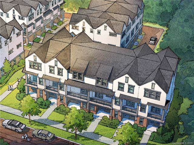 4217 Spencer Towns Lane #18, Charlotte, NC 28205 (#3539940) :: Homes Charlotte