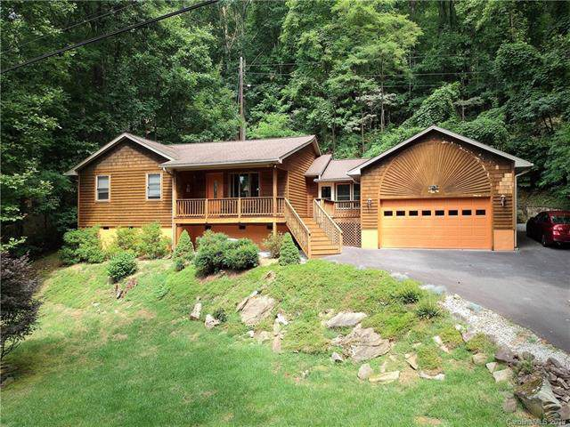 38 Sleepy Hollow Drive, Maggie Valley, NC 28751 (#3540874) :: Roby Realty