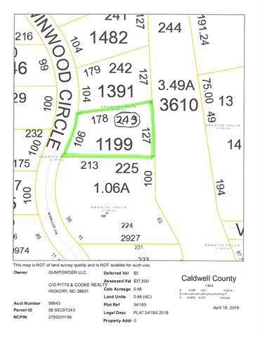243 Winwood Circle Winwood Circle #243, Granite Falls, NC 28630 (#3541365) :: Cloninger Properties