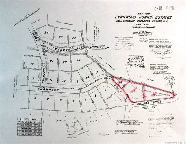 1615 Colfax Drive, Concord, NC 28025 (#3541806) :: Mossy Oak Properties Land and Luxury