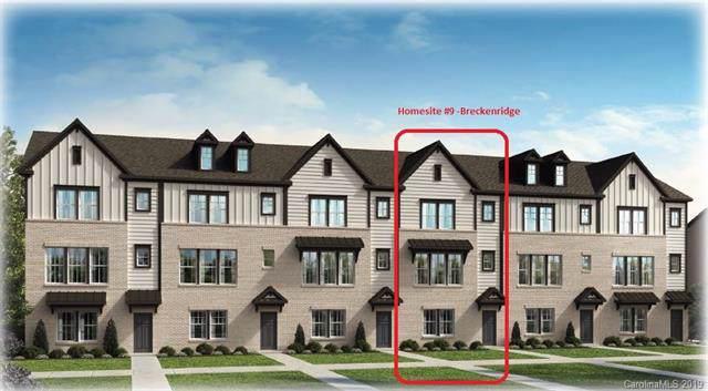 616 Tudor Park Way #9, Charlotte, NC 28211 (#3542141) :: High Performance Real Estate Advisors