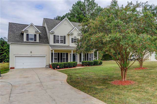 135 Painted Bunting Drive, Troutman, NC 28166 (#3542448) :: Team Honeycutt
