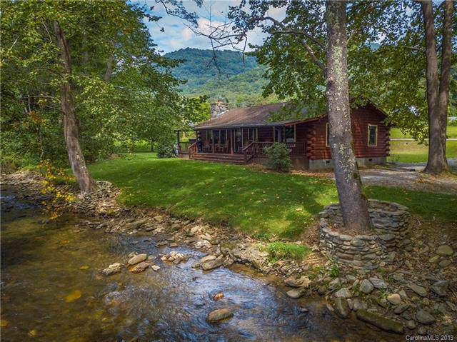 190 Evans Cove Road, Maggie Valley, NC 28751 (#3542706) :: Besecker Homes Team