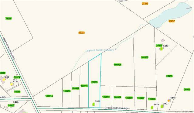 Lot 8 Christopher Road Lot 8, Iron Station, NC 28080 (#3543111) :: Carlyle Properties