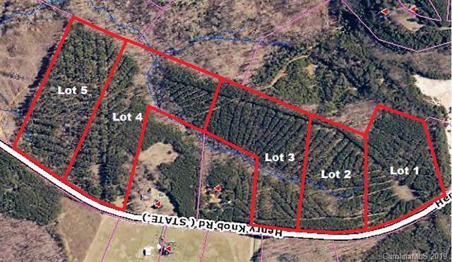 Lot 5 Henry Knob Road #5, Clover, SC 29710 (#3543244) :: Keller Williams Biltmore Village