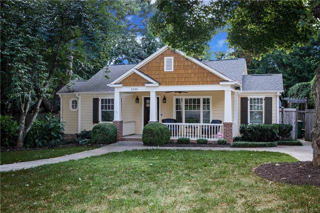 2230 Lockhart Drive, Charlotte, NC 28203 (#3544761) :: Scarlett Real Estate