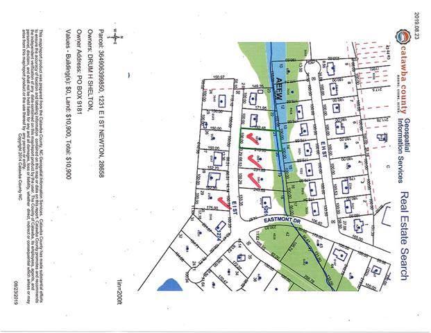 1262 E I Street #29, Newton, NC 28658 (MLS #3546785) :: RE/MAX Impact Realty