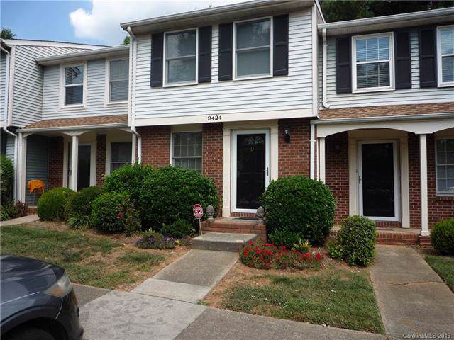 9424 Lexington Circle D, Charlotte, NC 28213 (#3548437) :: Roby Realty