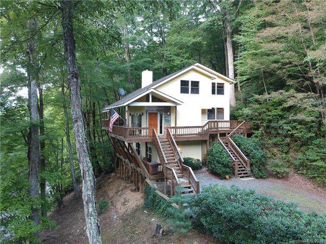 85 Wildcat Run Road, Maggie Valley, NC 28751 (#3549592) :: Rinehart Realty