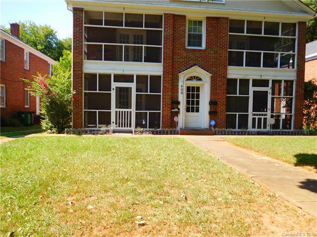 600 Walnut Avenue #1, Charlotte, NC 28208 (#3550607) :: Homes Charlotte