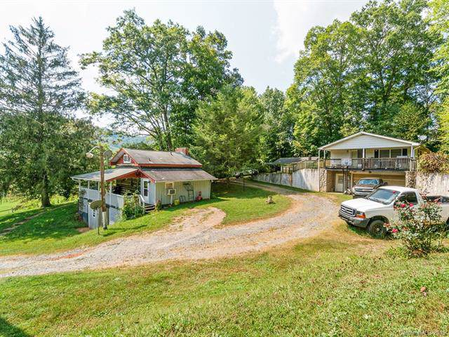 4900 & 4904 Crabtree Mountain Road, Clyde, NC 28721 (#3551789) :: Homes Charlotte
