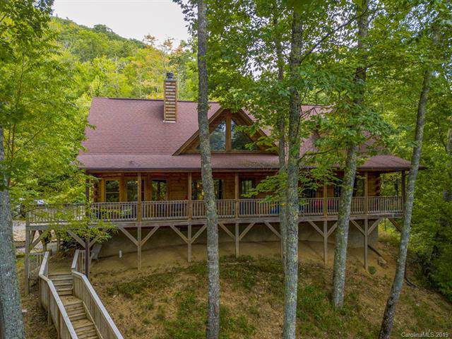 111 Grandpa Lane, Maggie Valley, NC 28751 (#3552332) :: SearchCharlotte.com