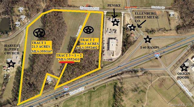 31.5 ac Watermelon Road, Statesville, NC 28625 (#3552410) :: Homes Charlotte