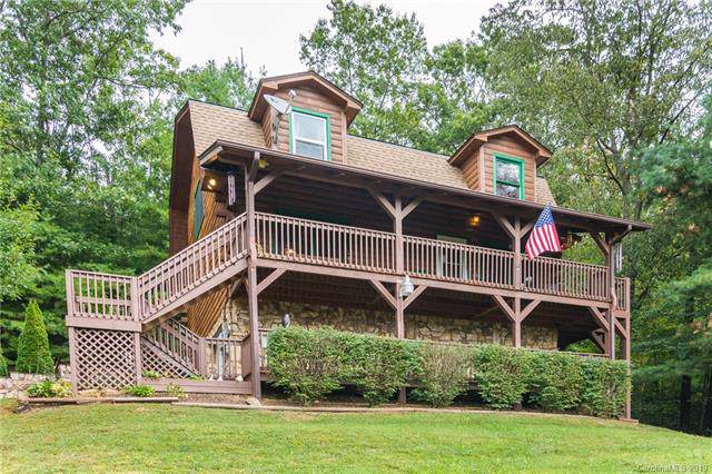 90 Barlow Drive, Waynesville, NC 28785 (#3554154) :: Besecker Homes Team