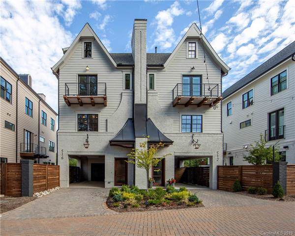516 Living Way #6, Charlotte, NC 28204 (#3554213) :: Stephen Cooley Real Estate Group