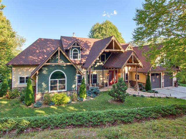 350 Snow Flake Lane, Maggie Valley, NC 28751 (#3554625) :: Rinehart Realty