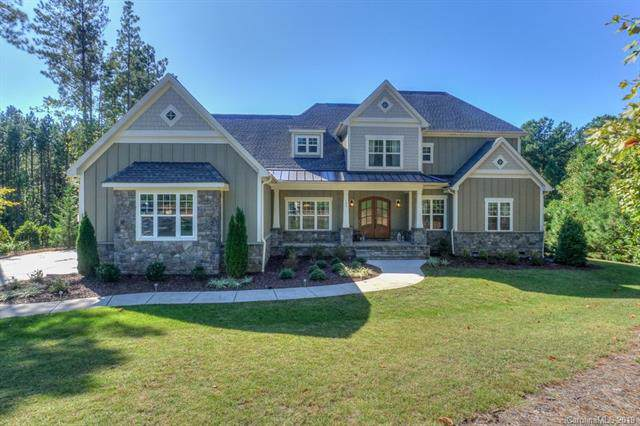 142 Emerald Creek Drive, Troutman, NC 28166 (#3557636) :: Sellstate Select