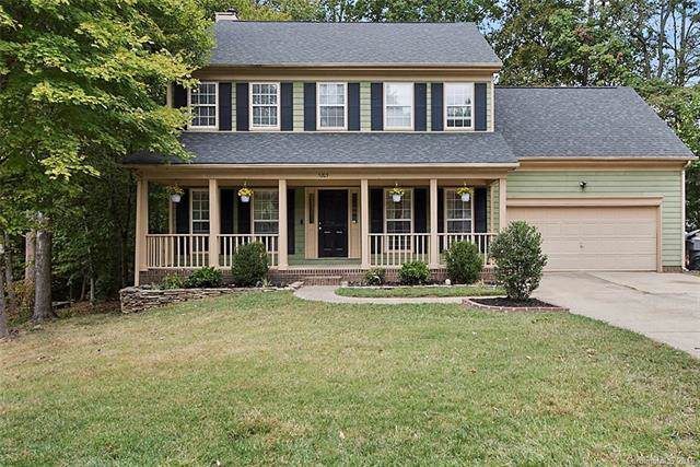 5203 Hedgecrest Place, Charlotte, NC 28269 (#3557731) :: Rinehart Realty