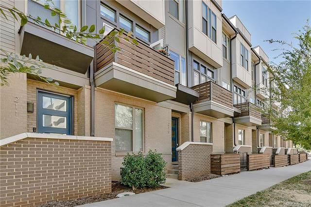 227 Doggett Street, Charlotte, NC 28203 (#3558726) :: Homes Charlotte