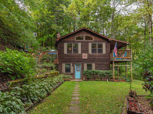 271 Shady Rest Drive, Waynesville, NC 28785 (#3559161) :: Francis Real Estate
