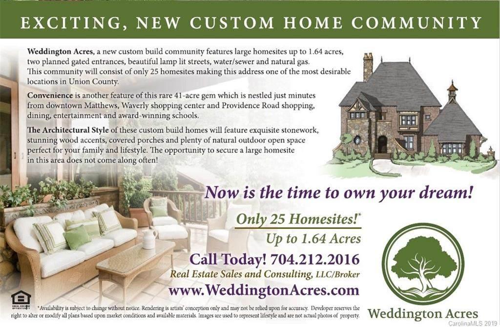 0 Brayland Avenue #18, Weddington, NC 28105 (#3559196) :: Homes with Keeley | RE/MAX Executive